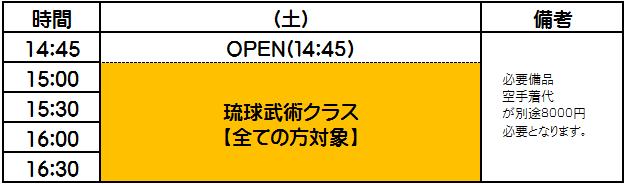 横浜キックボクシングジム TSKjapan 琉球武術クラブ 小林琉球空手 古武術